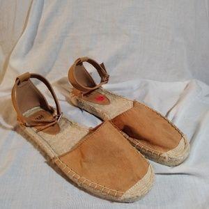 H&M Tan Espadrilles Sandals